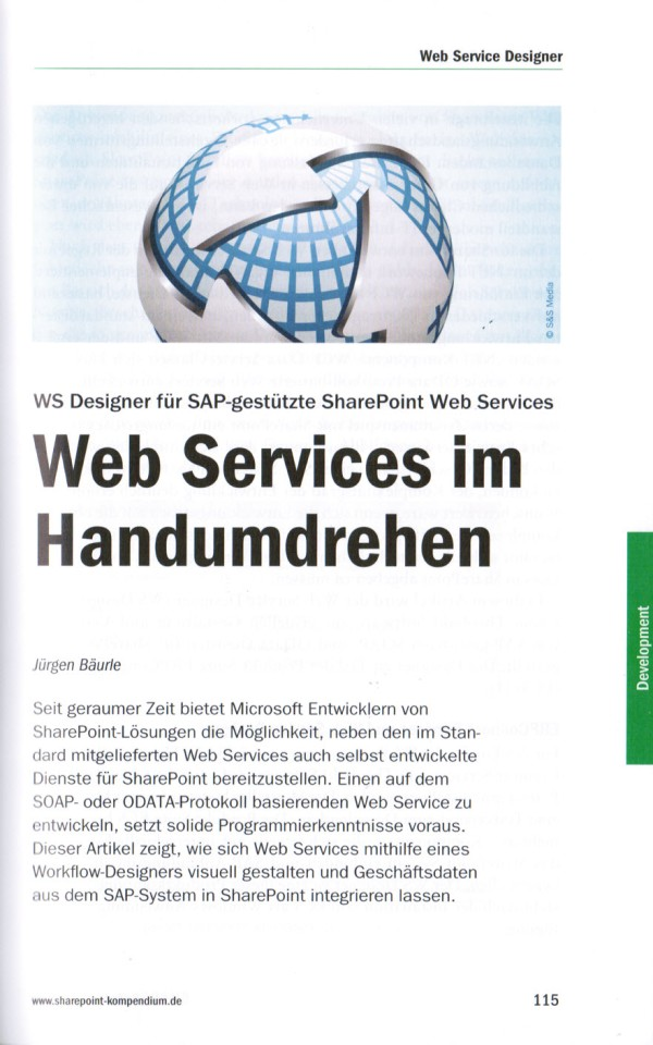 Article Web Services im Handumdrehen